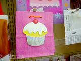 カップケーキの紙袋