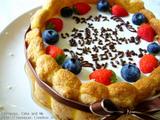メッセージ入りケーキ