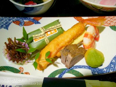 穴子笹寿司など