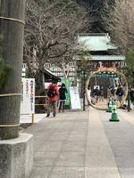 正月飾りの神社