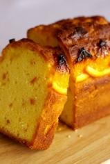 オレンジのパウンドケーキ