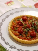 Tarte aux Tomates(トマトのタルト)