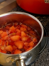 紅玉と苺のジャム