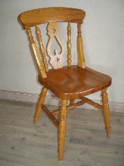 ハート椅子