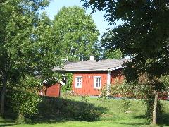 赤茶色の家