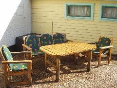 屋外家具・木製