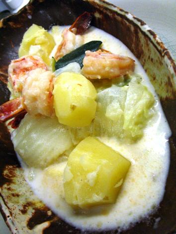海老と白菜