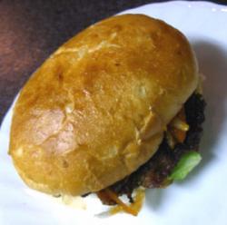 ダチョウハンバーガー2