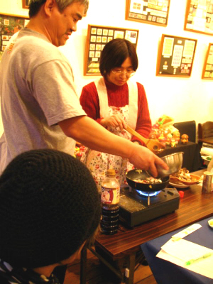 きのこ料理教室2