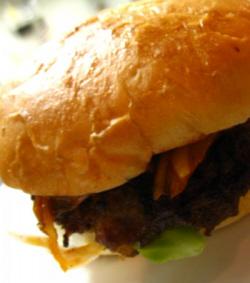 ダチョウハンバーガー1