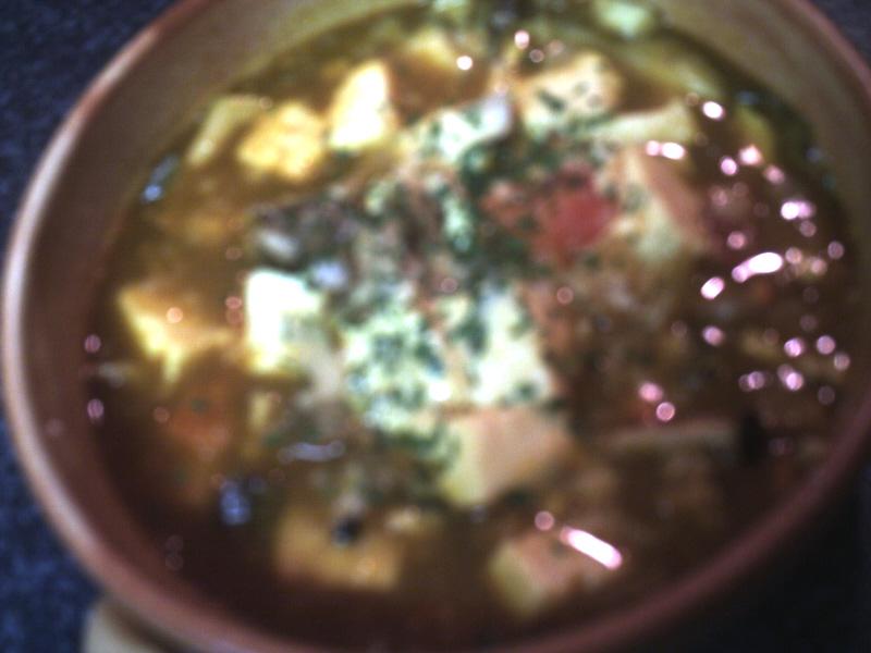 カレースープ煮込み