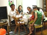 出張料理 家族でホームパティー