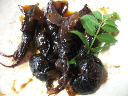 ホタルイカの甘露煮