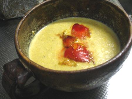タマゴタケのポタージュスープ