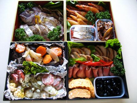 2010 お節料理