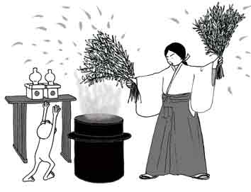 日使頭祭 離宮八幡宮の春祭り