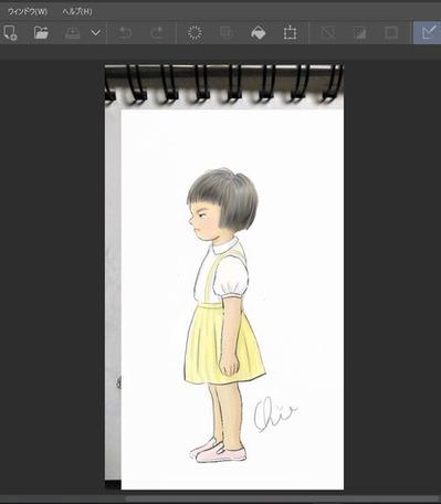 毎日1枚、描いてアップし始めました
