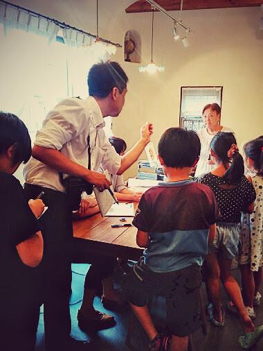 「大山崎はじめました。」の夏休み企画 『1日記者になろう ! 』