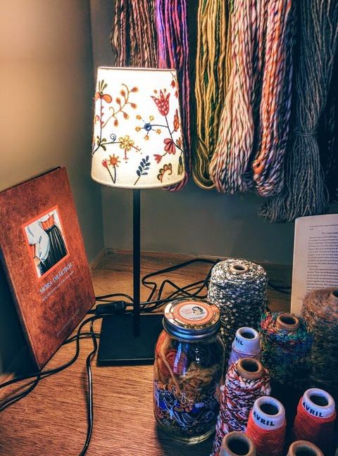 プオルッカさんランプと糸