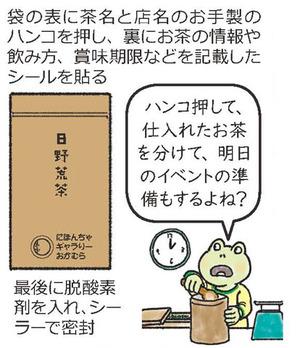 実店舗を持たないお店『 日本茶の販売 ❺ 最終話 』にほんちゃギャラリーおかむら