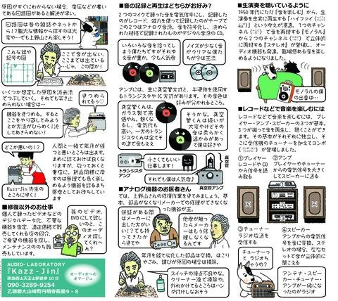 アナログ音響機器の修復②『Kazz‐Jin』