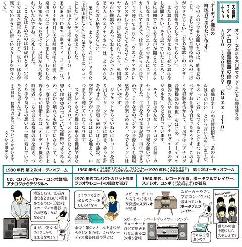 アナログ音響機器の修理ではなく『修復』! AUDIO‐LABORATORY『Kazz‐Jin』