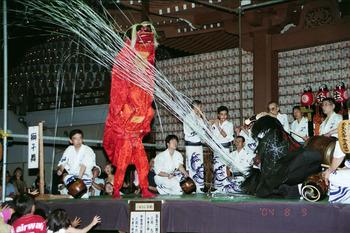 民俗芸能鑑賞会のおさそい 『壬生六斎念仏踊り』