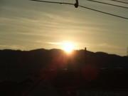 生駒山からの初日の出2013年