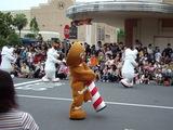 パレードの様子ジンジャークッキーマン