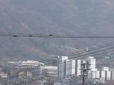 大阪経済法科大学裏側にある登山道路
