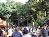 三輪神社の大鳥居2008