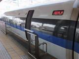 東京行き500系のぞみ号の表示
