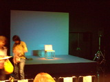 公演終了後の舞台