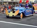 ウッドペッカーの乗るパレード先頭車