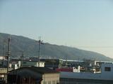 やや霞の残る生駒山南部2012年12月3日午後