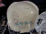 サーカスの絵皿