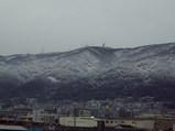 雪の積もった生駒山2008
