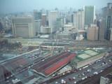 大阪駅北側貨物ヤードを臨む