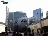 HEPナビオ先端から見た新阪急ビル全景