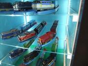 プラレール機関車たち