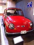 セット内で展示されていた国産車