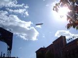 USJ上空を移動するツェッペリンNT号