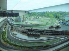 交通科学博物館のジオラマ