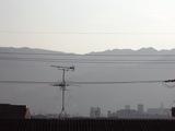 今朝の生駒山