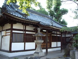 加津良神社と狛犬さん