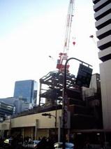 阪急百貨店建て替え工事現場東面全景