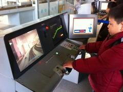 新幹線運転シミュレーター
