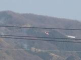 消火活動?働くヘリコプター1
