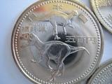 恐竜がデザインされた福井県の記念硬貨