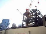 阪急百貨店建て替え工事現場東面からUP